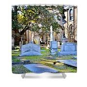St. Philips Church Cemetery Charleston Sc Shower Curtain