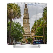 St. Philip's Episcopal Church Charleston Sc Shower Curtain