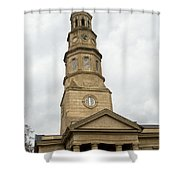 St Phillips Episcopal Church Charleston South Carolina Shower Curtain