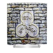 St. Rose 1874 Shower Curtain