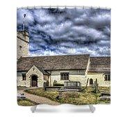 St Sannans Church Bedwellty 3 Shower Curtain