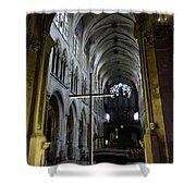 St. Severin Church In Paris France Shower Curtain