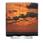 St Simons And Sea Island Sunrise Shower Curtain