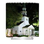 St Simons Island Presbyterian Church Shower Curtain