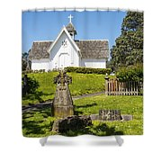 St. Stepen's Chapel Shower Curtain