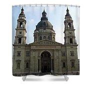 St Stephens Basilica Budapest Shower Curtain