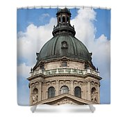 St. Stephen's Basilica Dome In Budapest Shower Curtain
