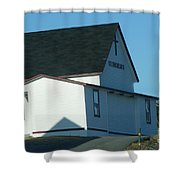 St. Theresa's Church  Shower Curtain