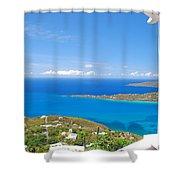St. Thomas  Shower Curtain