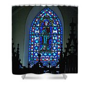 St Thomas Stained Glass Shower Curtain
