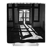 St X School Doorway Shower Curtain