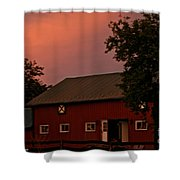 Stable Barn Shower Curtain