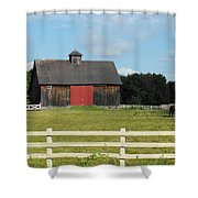 Stable Shower Curtain