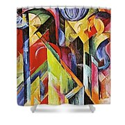 Stables 1913 Shower Curtain