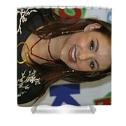 Singer Stacie Orrico Shower Curtain