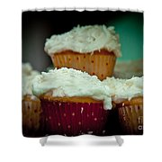 Stacked Delights Shower Curtain