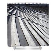 Stadium Bleachers Shower Curtain