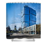 Stadium Place Apartments Shower Curtain
