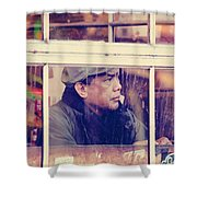 Stage Of Anticipation  Shower Curtain