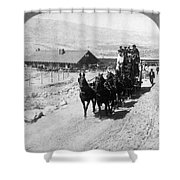 Stagecoach, C Shower Curtain