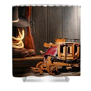 Stagecoach Dream Shower Curtain