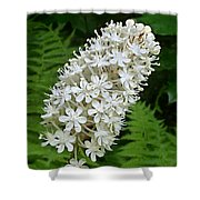 Stagger Grass Lily Shower Curtain