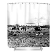 Staging Shower Curtain