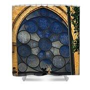 Stain Glass Church Window Shower Curtain