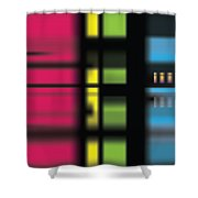 Stainbow Shower Curtain