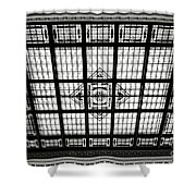 Stained Glass Hoboken Terminal Shower Curtain
