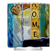 Stained Glass Home Shower Curtain by Keith Thue