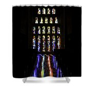 Stained Glass II Shower Curtain
