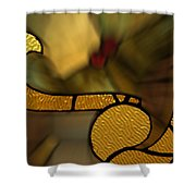 Stained Glass Lc 02 Shower Curtain