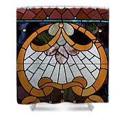 Stained Glass Lc 09 Shower Curtain
