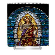 Stained Glass Pc 03 Shower Curtain