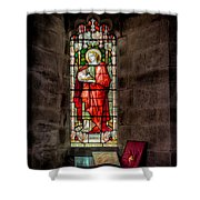 Stained Glass Window 2 Shower Curtain