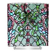 Stained Glass Window -2 Shower Curtain