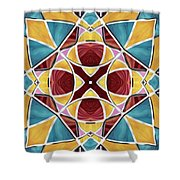 Stained Glass Window 5 Shower Curtain