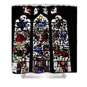 Stained Glass Window I Shower Curtain