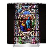 Stained Glass Window Viii Shower Curtain