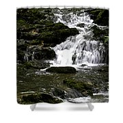 Stair Step Falls Five Shower Curtain