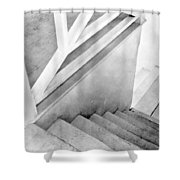 Staircase, Mexico City, C.1924 Shower Curtain