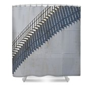 Stairs And Shadows 3 Shower Curtain by Anita Burgermeister