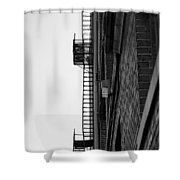 Stairs To Heaven Shower Curtain