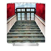 Stairs To The Barn Shower Curtain
