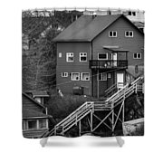Stairs Up To Home Shower Curtain