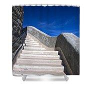 Stairway At Mount Diablo State Park Shower Curtain
