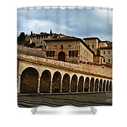 Stairway To Assissi Shower Curtain