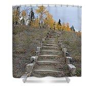 Stairway To Autumn Shower Curtain