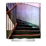 Stairway To Cezanne Atelier Shower Curtain